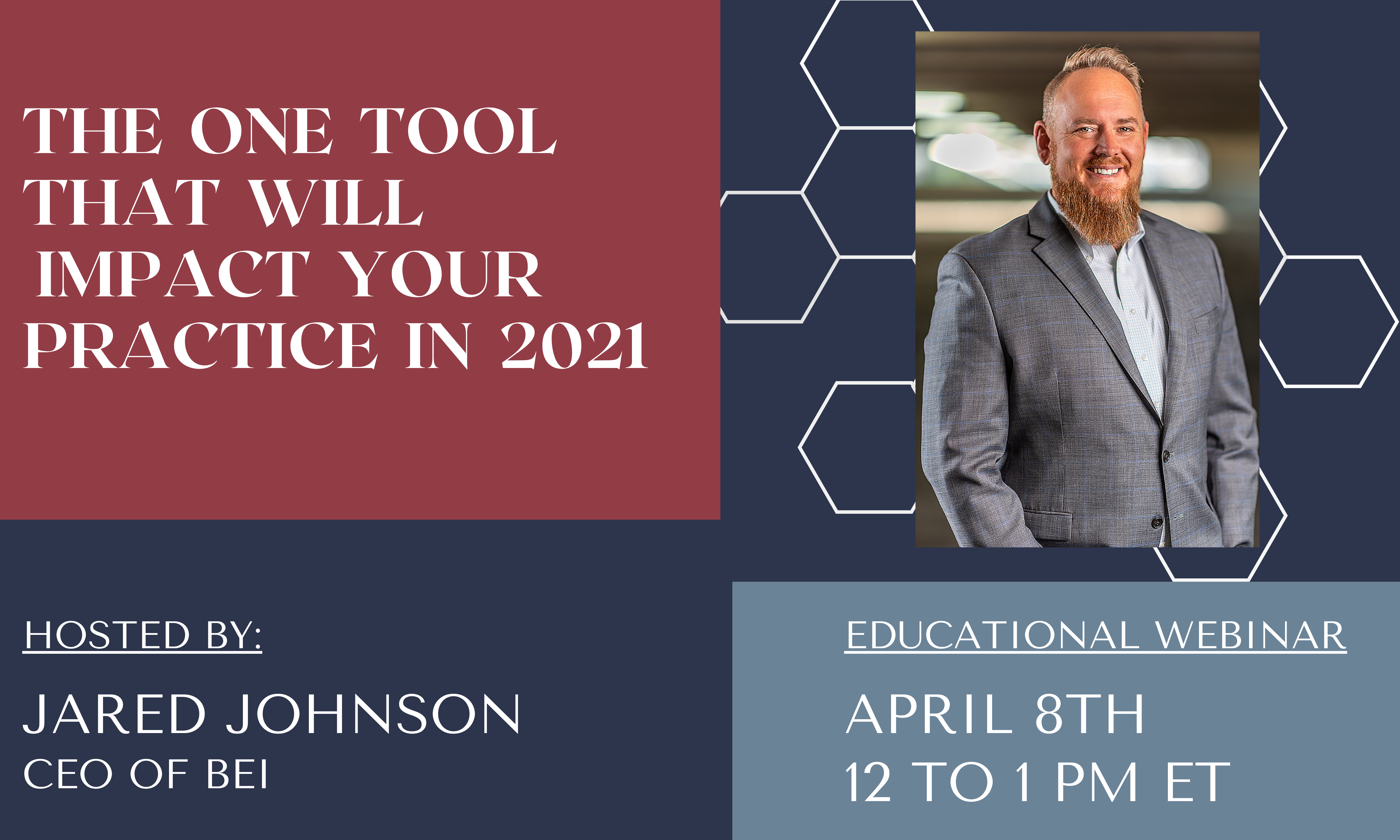 The One Tool That Will Impact Your Practice in 2021 Webinar Image